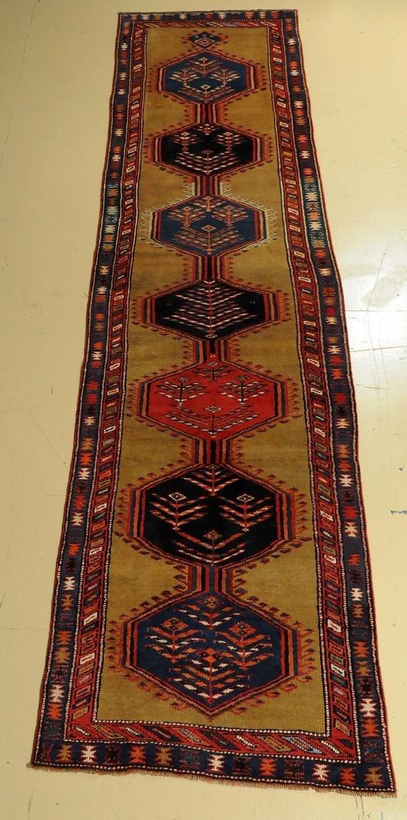 """An Antique Persian Serab Wool Runner, 11' 8 """" x 2' 11"""""""