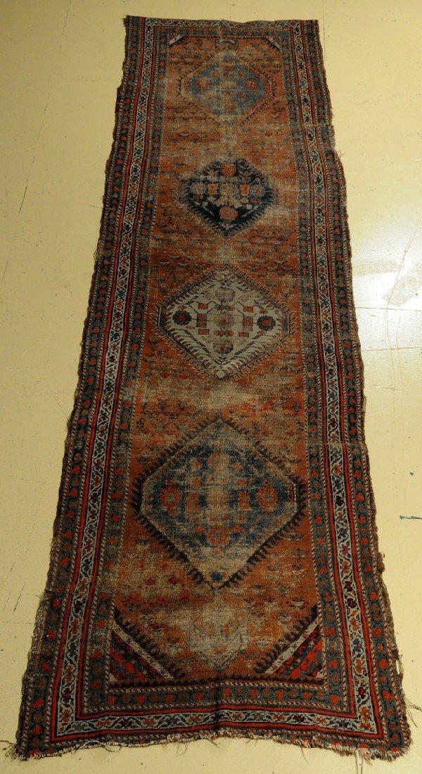 """A Kurd Wool Runner, 10' 4"""" x 3' 3"""""""