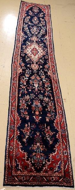 "A Semi Antique Persian Lilihan Wool Runner, 2' 9"" x 15' 7"""