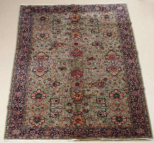 "An Antique Tabriz Design Wool Rug, 6' 8"" x 11' 10"""