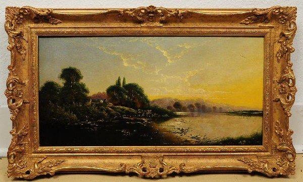 2: Edwin Henry Boddington (British, 1836-1905), Landsca