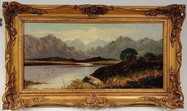 6: Charles Leslie (British, 1835-1890), Highland Scene