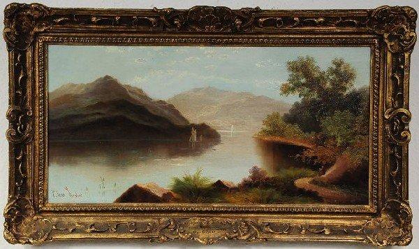 9: Charlie Leslie (British, 1835-1890), Near Barmouth,