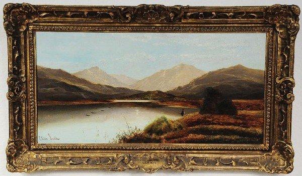 10: Charles Leslie (British, 1835-1890), Highland Scene