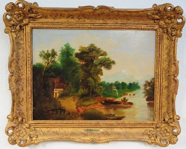 17: Attributed to Frank Percival Brown (British, 1877-1