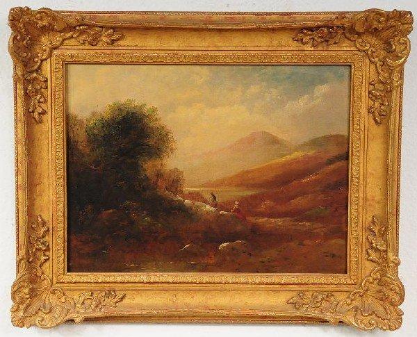 21: Henry Harris (British, 1852-1926), Landscape with F