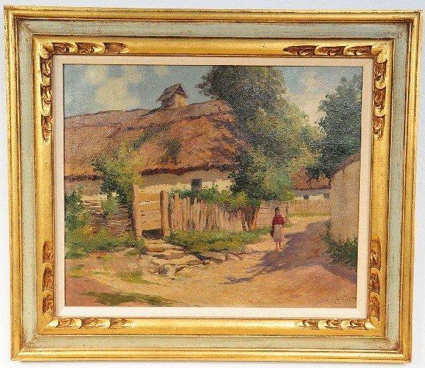 24: Gyula Julius Zorkoczy (Hungarian, 1873-1932), Villa
