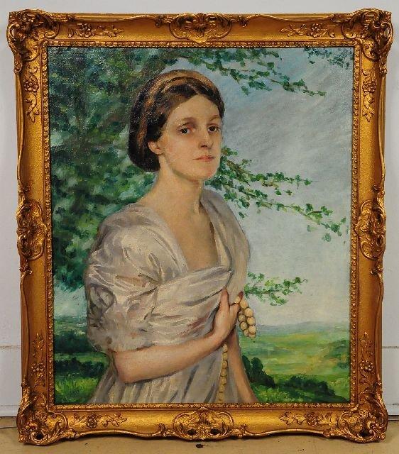 85: Augustus Edwin John (Welsh, 1878-1961), Portrait of
