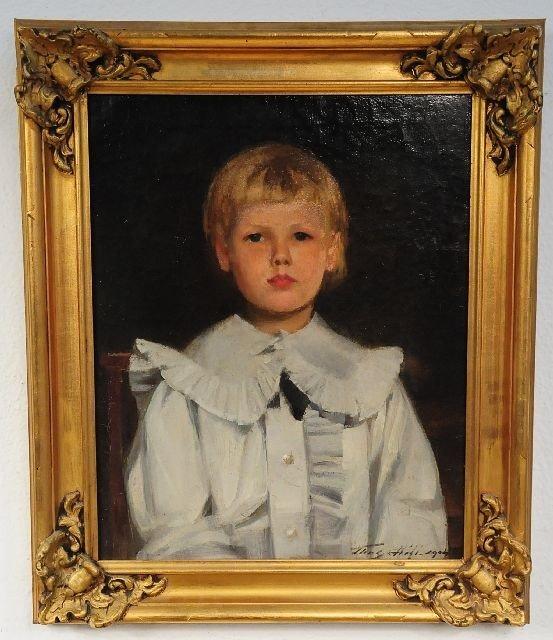 110: Thomas Hill (American, 19th Century), Portrait of