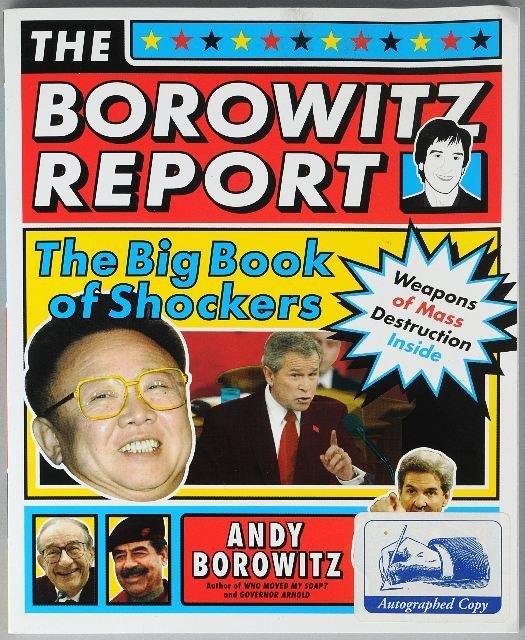 13: BOROWITZ, Andy (born 1958). The Borowitz Report: Th