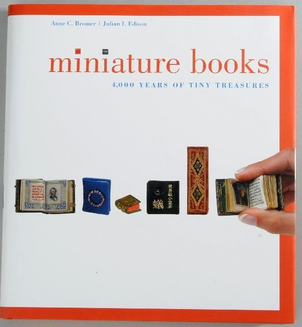 14: BROMER, Anne C. and Julian EDISON. Miniature Books.