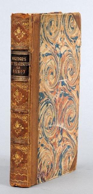 17: BRYDGES, [Samuel] Egerton (1762-1837). Letters on t