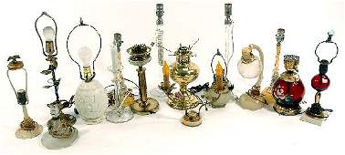 163: A Miscellaneous Collection of Brass, Glass and Por