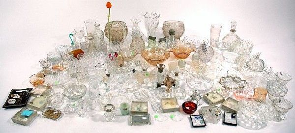 178: A Miscellaneous Collection of Pressed Clear Glass