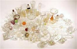 187 A Miscellaneous Collection of Pressed Clear Glass