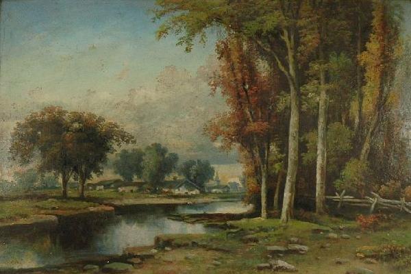 6: Artist Unknown, (American, 19th Century) River Lands