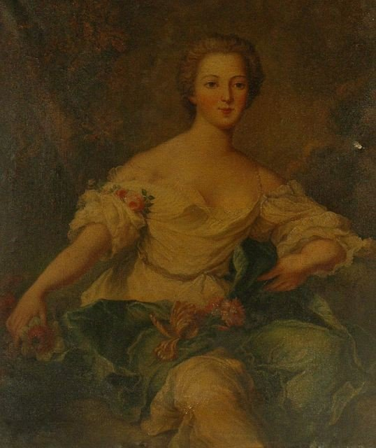 11: After Jean-Marc Nattier (French, 1685-1766) Portrai