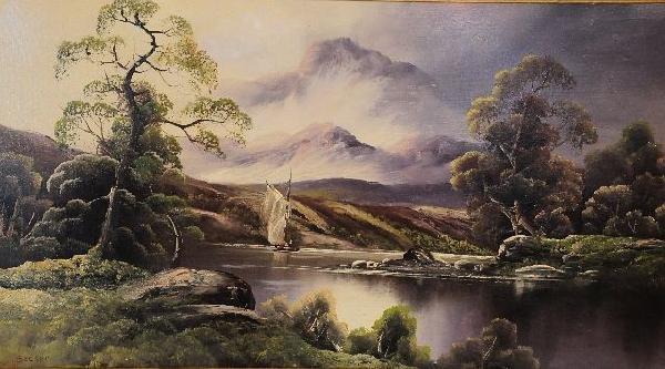 13: Becker (English, Late 19th/Early 20th Century), Lan