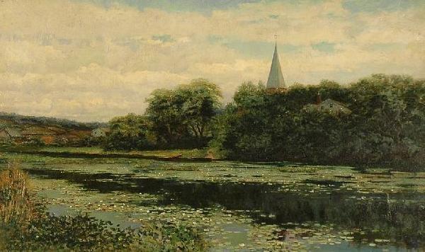 18: Robert Ward Van Boskerck (American, 1855-1932), Lil