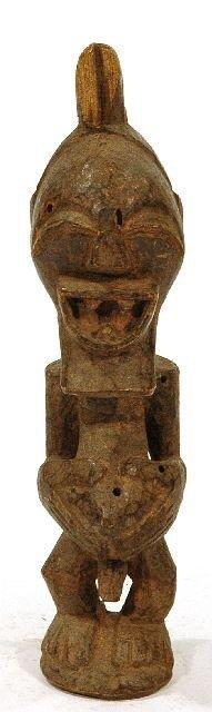 19: A Wood Standing Figure, Songye, Democratic Republic
