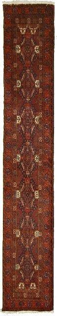 4: A Semi Antique Persian Baluch Wool Rug