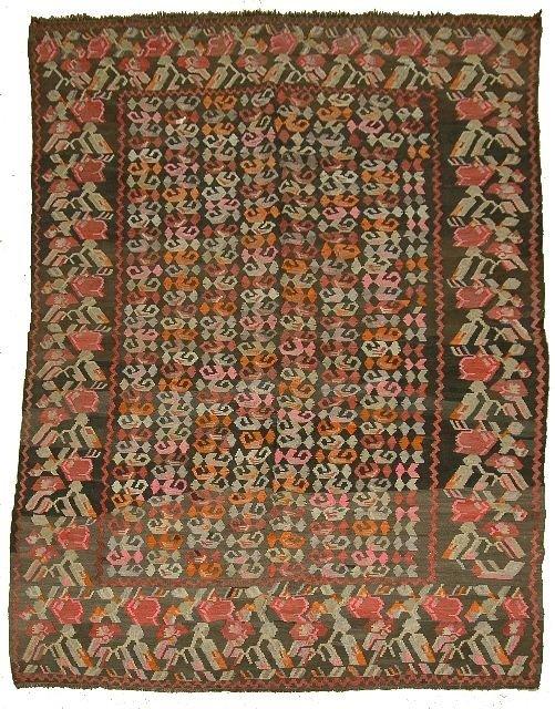 62: An Armenian Caucasian Wool Kilim
