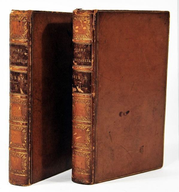 1: AIKIN, Lucy (1781-1864). Memoirs of the Court of Que