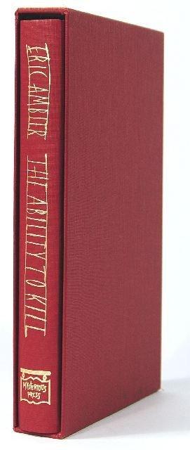 4: AMBLER, Eric (1909-1998). The Ability to Kill. True