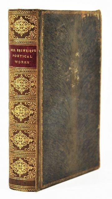 16: BROWNING, Elizabeth Barrett (1806-1861). Poetical W