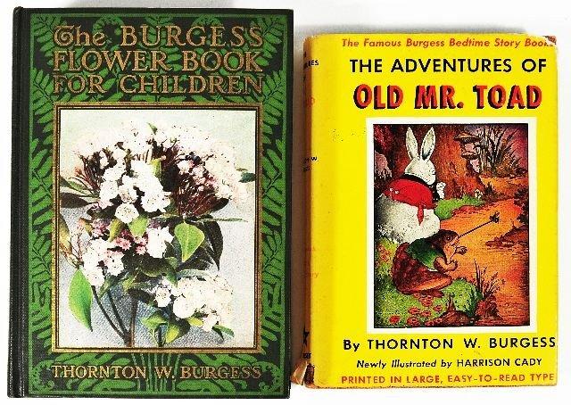 18: BURGESS, Thornton W. (1874-1965). The Burgess Flowe