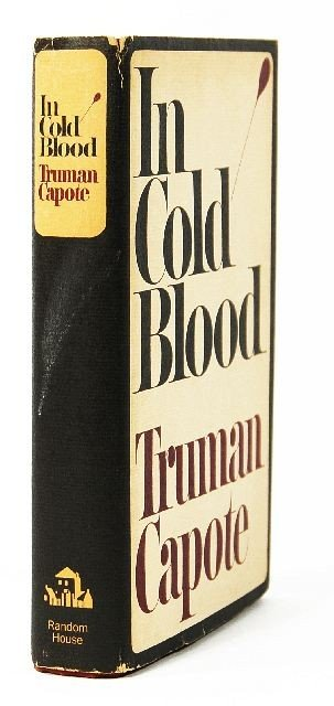 23: CAPOTE, Truman. In Cold Blood. A True Account of a