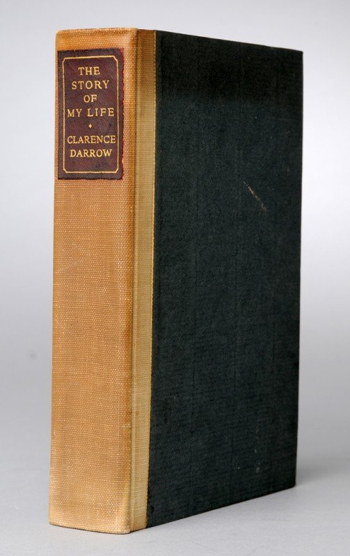 41: DARROW, Clarence (1857-1938). The Story of My Life.
