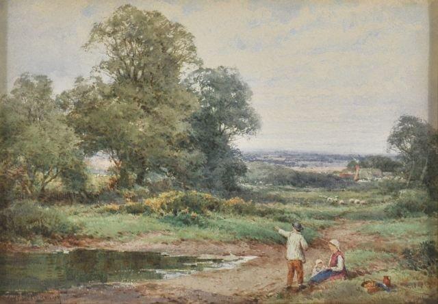14: Henry Sylvester Stannard (1870-1951) Landscape with