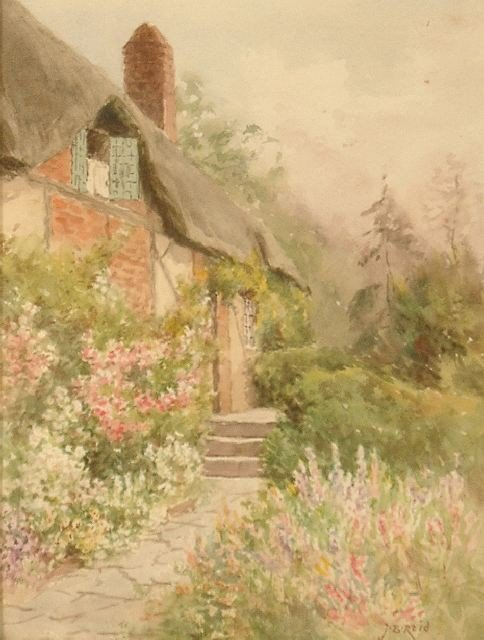 15A: Jane Brewster (American, 1862-1966), Cottage Scene