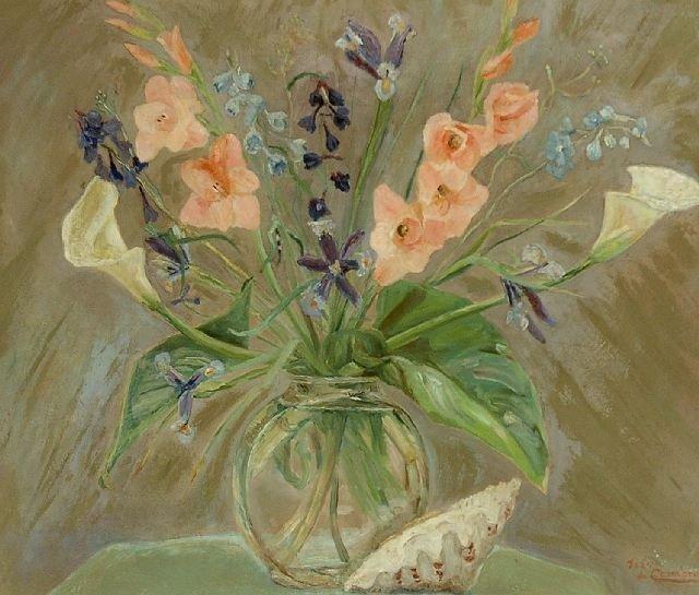 17: Jean de Chambrun (20th Century), Floral Still Life