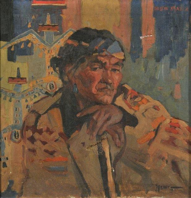 21: Attributed to Rudolf Hafner (1893-1951) Hostin Shaz