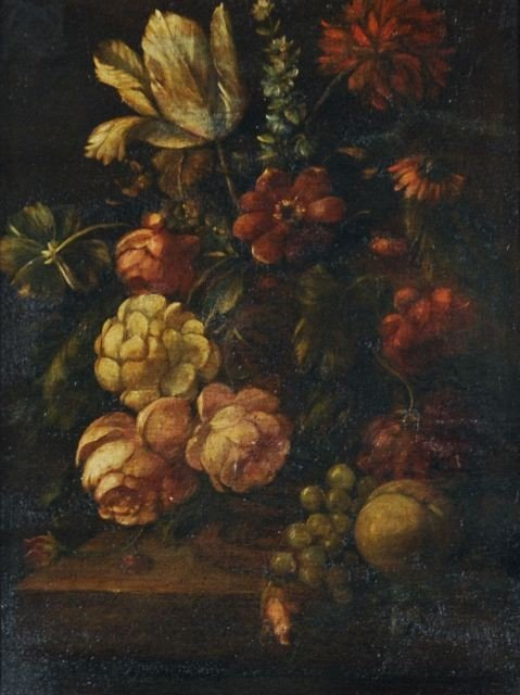 10: Artist Unknown (Dutch School) Untitled, Oil on tin,