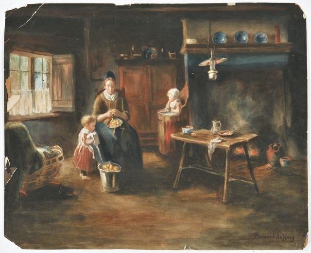 15: Bernard Johann De Hoog (1867-1943, Dutch) Dutch Int