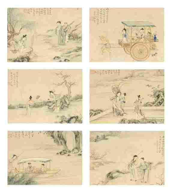A Collection of Six 19th Century Chinese Narrative