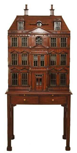205 A Maitland Smith Dollhouse Drinks Cabinet