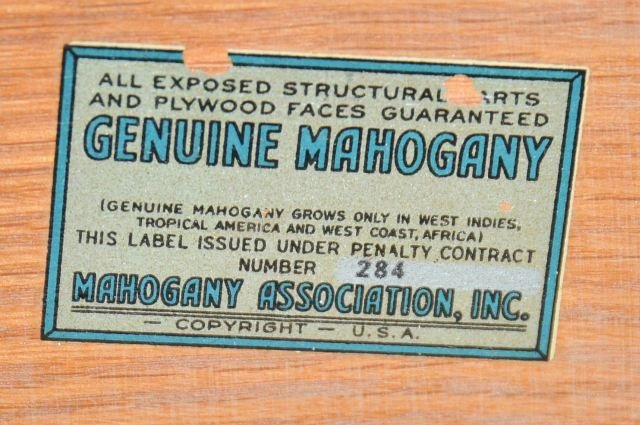 221: A Georgian Style Mahogany Four Piece Bedroom Set, - 5