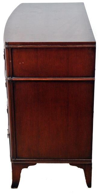 221: A Georgian Style Mahogany Four Piece Bedroom Set, - 7