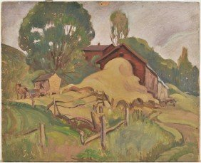 3: Arthur Tilgner (American, Ohio 20th Century) Landsca