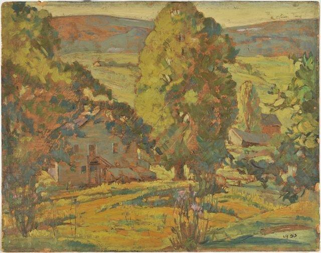 4: Arthur Tilgner (American, Ohio 20th Century) Landsca
