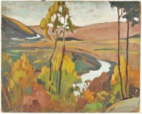 5: Arthur Tilgner (American, Ohio 20th Century) Landsca