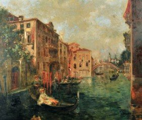 9: Attrib. A. Rodetti (Italian, 19th Century) Venetian