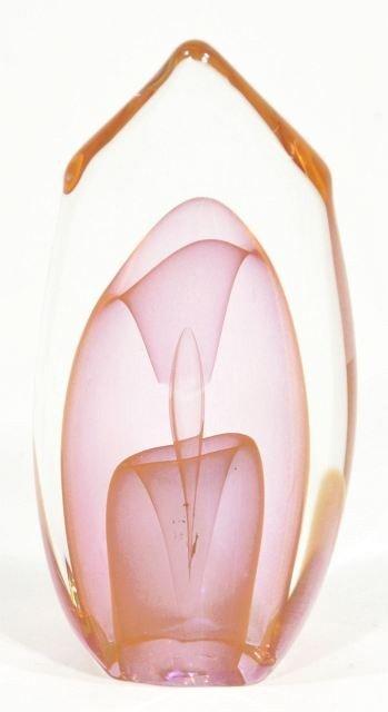 201: A Dominick Labino (American, 1910-1987) Glass Scul