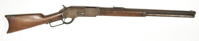 2A: A Winchester 1876 45-60 Caliber Rifle, Serial Numbe