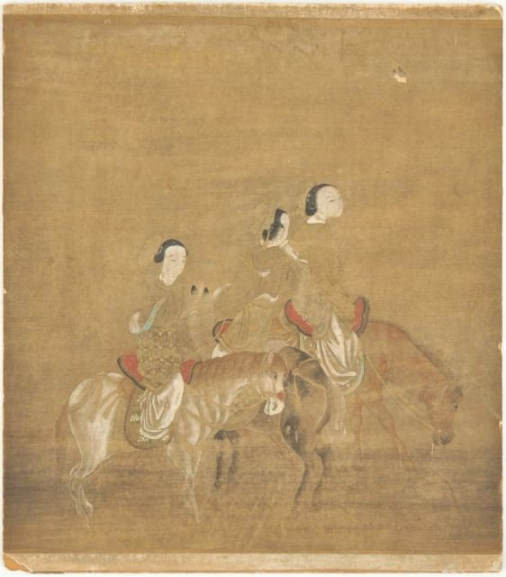 17: A Chinese 18th Century Gouache on Paper,