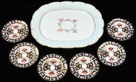 A Minton Porcelain Platter,